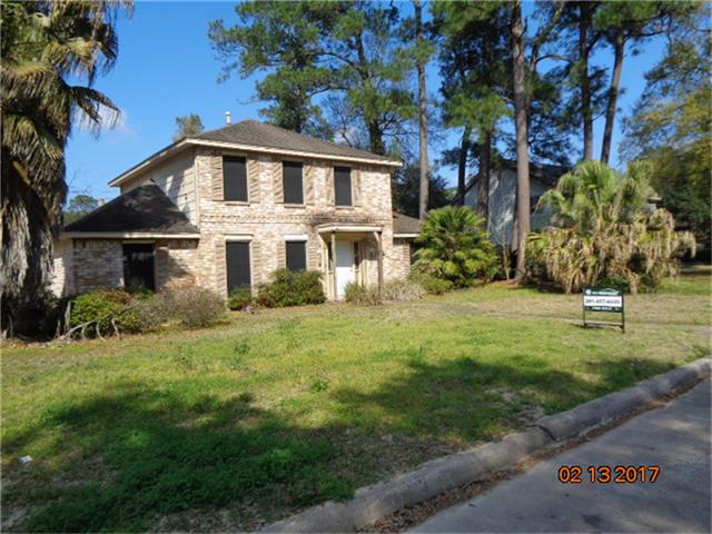 Photo of home for sale at 15306 Falling Creek Drive, Houston TX