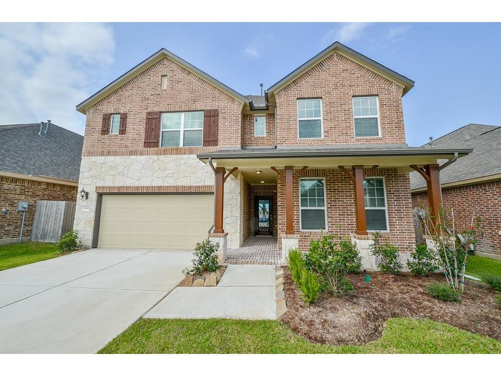 Photo of home for sale at 13815 Pointed Edge Lane, Cypress TX