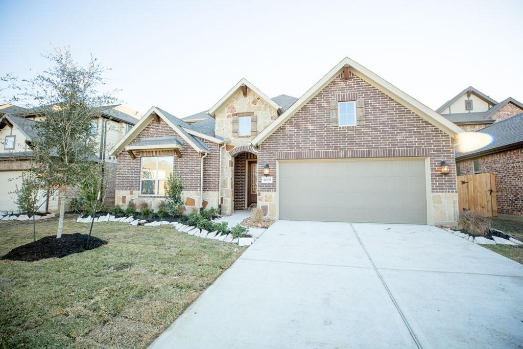 Photo of home for sale at 14618 Bella Meadow Court, Cypress TX