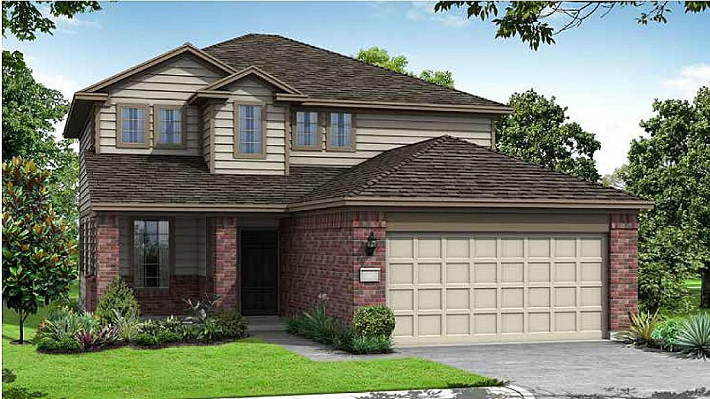 Photo of home for sale at 2339 Altman Trl, Houston TX
