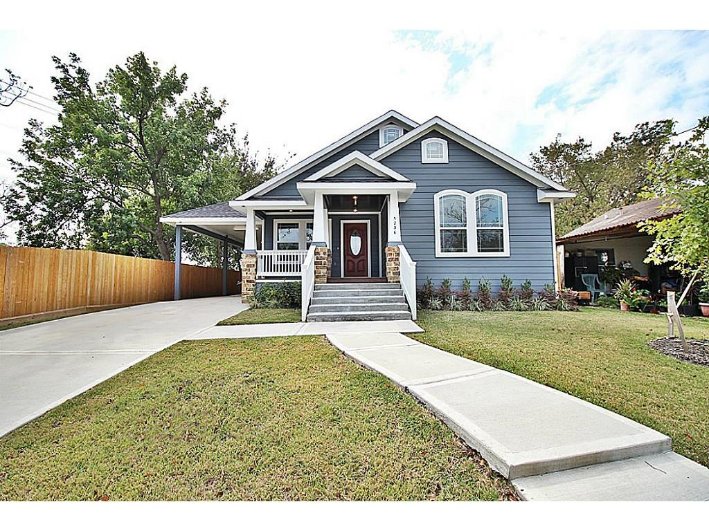 Photo of home for sale at 5236 Hillman Street, Houston TX