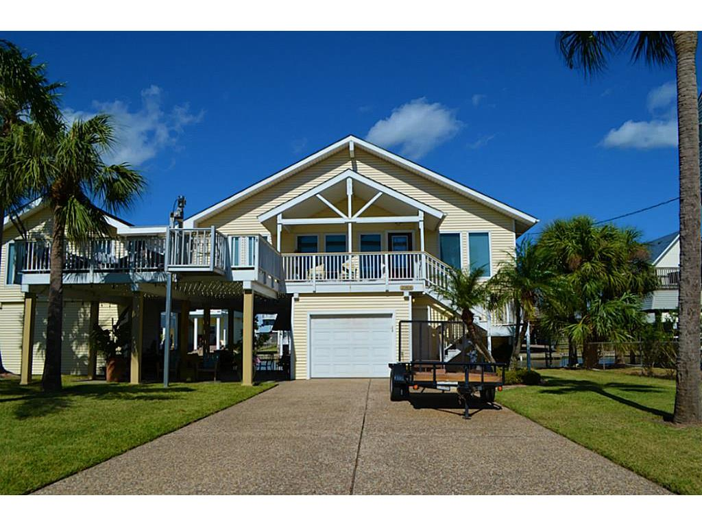 Photo of home for sale at 21816 Frio Drive, Galveston TX