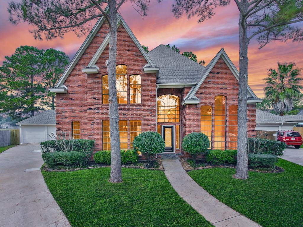 Photo of home for sale at 8030 Danette Court, Spring TX