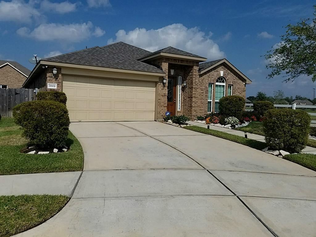 Photo of home for sale at 7002 Riata Hills Lane, Spring TX