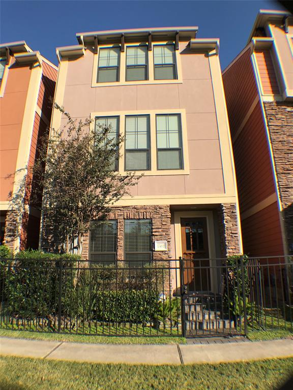 Photo of home for sale at 1046 23rd Street W, Houston TX