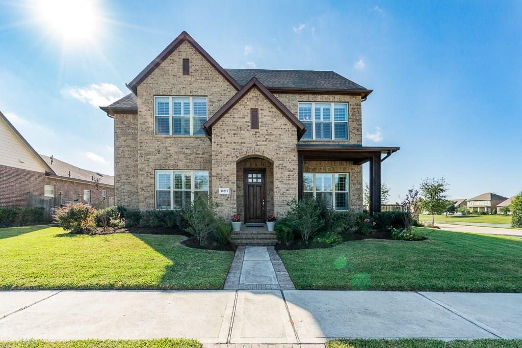 Photo of home for sale at 18215 Long Key Drive, Cypress TX