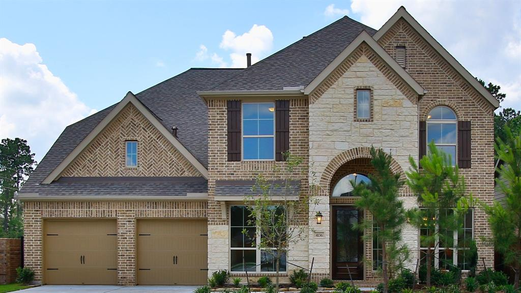 Photo of home for sale at 4136 Sandalwood Lane, Spring TX