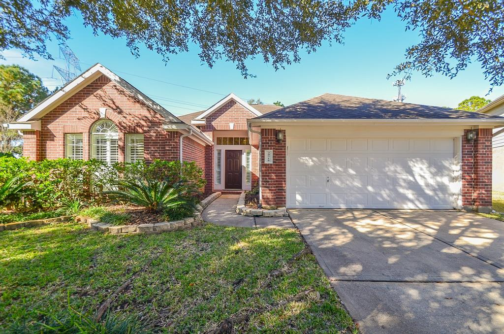 Photo of home for sale at 20718 Cottondale Court, Katy TX
