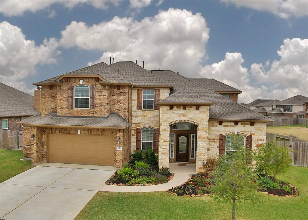 Photo of home for sale at 16310 Adam Prairie Drive, Hockley TX