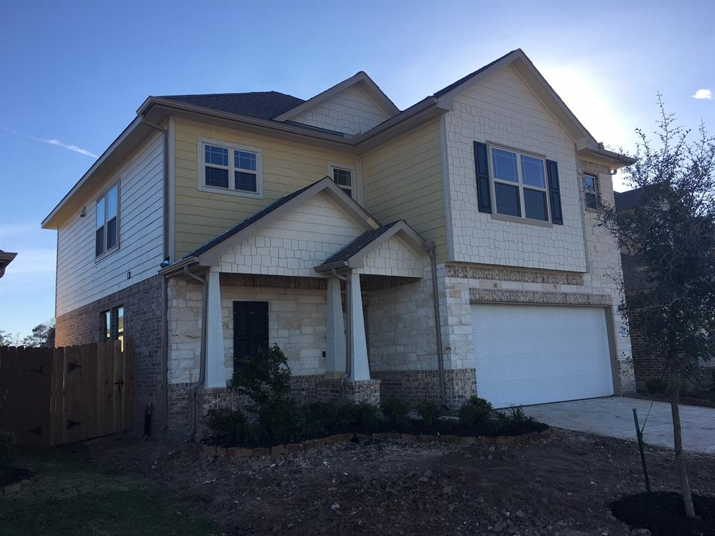 Photo of home for sale at 4422 Lone Alcove Drive, Spring TX