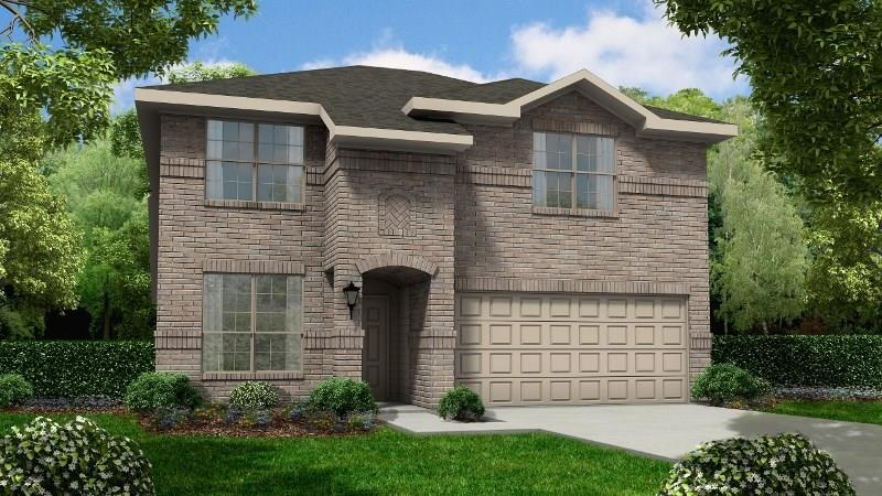 Photo of home for sale at 2315 Cold River Drive, Humble TX