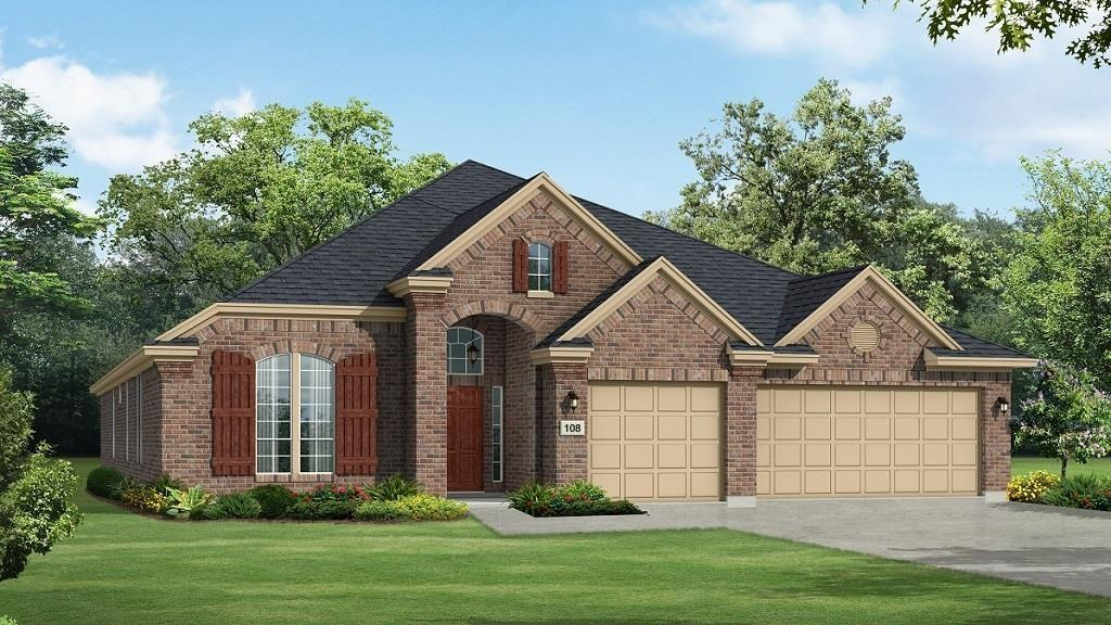 Photo of home for sale at 23 Whitbarrow Place, The Woodlands TX