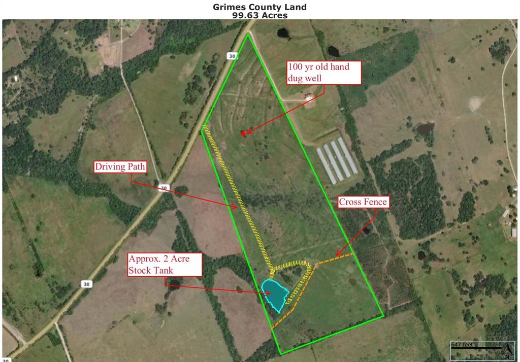 99.63 Acres Hwy 30 Navasota Home Listings - Top Guns Realty Grimes County Real Estate