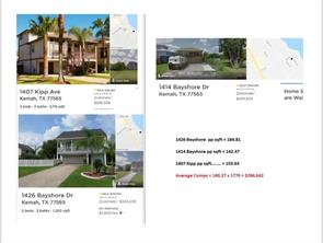 Property for sale at 1428 Kipp Avenue, Kemah,  Texas 77565