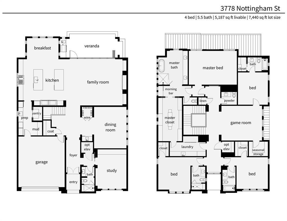 3778 Nottingham Street West University Place, TX 77005