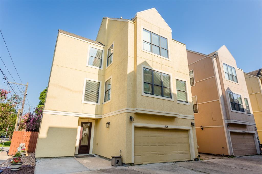 1504 Thompson Street Houston TX  77007 - Hunter Real Estate Group